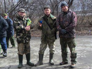 Активные участники кинологических мероприятий-В.Б.Братухин, А.А.Вирфель и А.А.Никифоров.